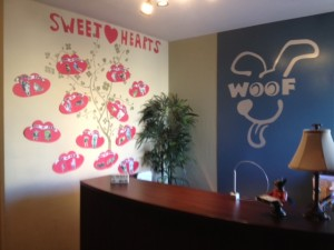 sweet hearts at woof