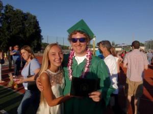Max graduated